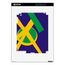 Brazilian Portal Blue Skin For The iPad 2