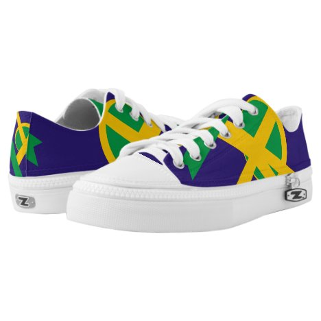 Brazilian Portal Lo-Top Sneakers Printed Shoes