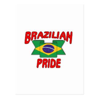 Brazilian pride postcard