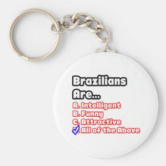 Brazilian Pride Quiz Keychain
