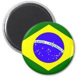 Brazilian Pride Refrigerator Magnet
