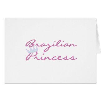 Brazilian Princess Card