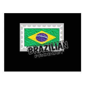 Brazilian product postcard