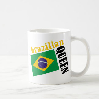 Brazilian Queen & Flag Coffee Mug