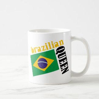 Brazilian Queen & Flag Coffee Mug