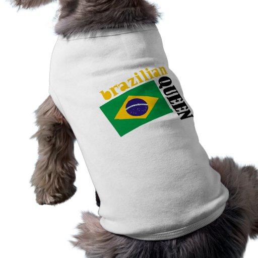 Brazilian Queen & Flag Pet Clothes