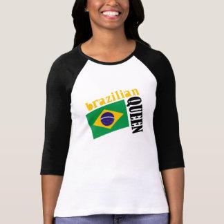 Brazilian Queen & Flag T Shirt