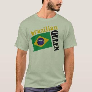 Brazilian Queen & Flag T-Shirt