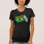 Brazilian Queen & Flag Tee Shirt