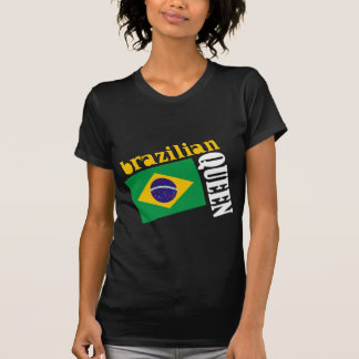 Brazilian Queen & Flag Tees