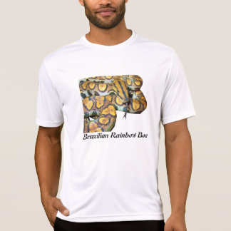 Brazilian Rainbow Boa Performance Micro-Fiber T T Shirts