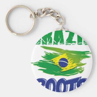 BRAZILIAN  Roots Keychain