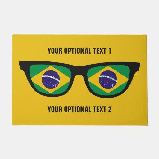 Brazilian Shades Custom Door Mats Doormat Zazzle