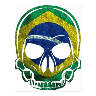 Brazilian Skull Postales