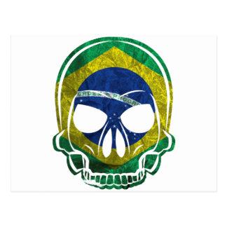 Brazilian Skull Tarjeta Postal