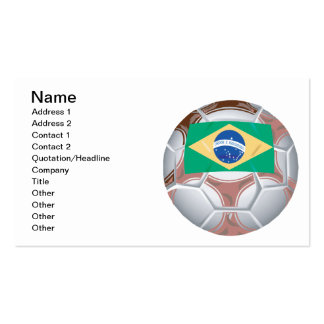 Brazilian Soccer Ball Business Card