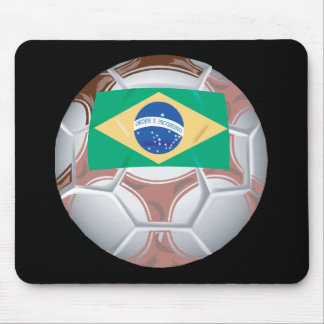 Brazilian Soccer Ball Mouse Pad