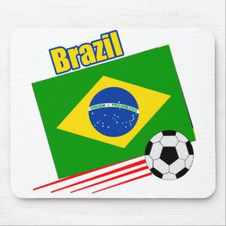Brazilian Soccer Team Mouse Pad