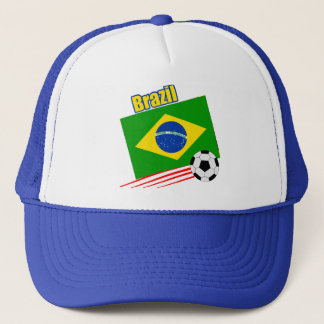 Brazilian Soccer Team Trucker Hat