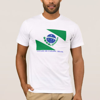 Brazilian state of Paraná Flag T-Shirt