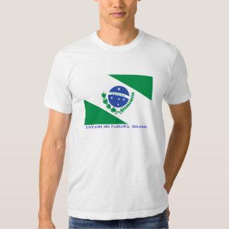 Brazilian state of Paraná Flag T Shirts