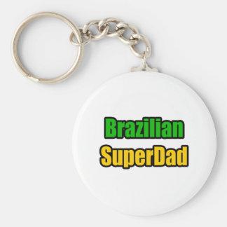 Brazilian SuperDad Key Chain