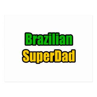 Brazilian SuperDad Postcard