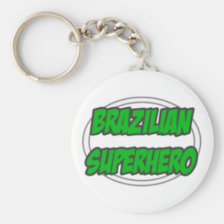Brazilian Superhero Keychains
