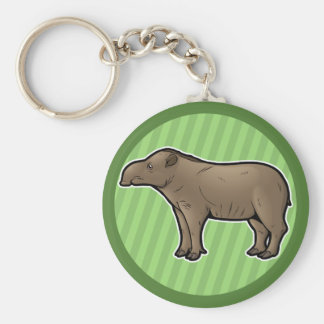 Brazilian Tapir Keychain