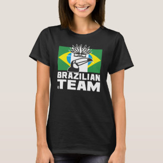 BRAZILIAN TEAM 2 BLACK Woman T-Shirt