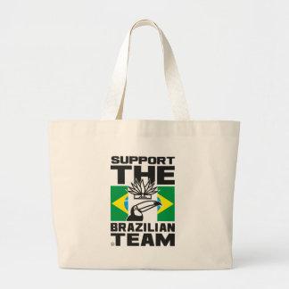 BRAZILIAN TEAM JUMBO TOTE BAG