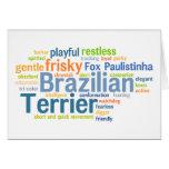 Brazilian Terrier Card