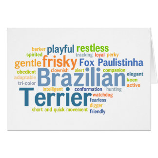 Brazilian Terrier Card
