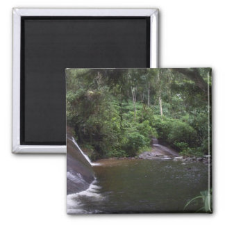 Brazilian Waterfall 2 Inch Square Magnet
