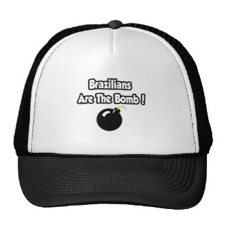 Brazilians Are The Bomb! Trucker Hats