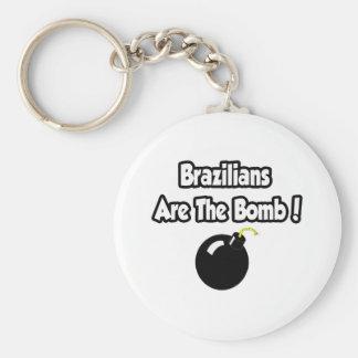 Brazilians Are The Bomb! Key Chain