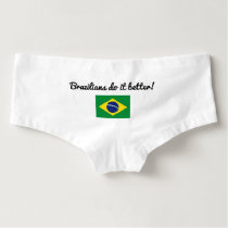 Brazilians do it better funny womens underwear