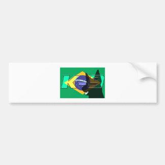 BrazilK9 Bumper Sticker
