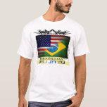 Brazillian Jiu Jitsu Flags T-Shirt