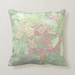 Brazillian Pepper Washed Out Pictuure Throw Pillows