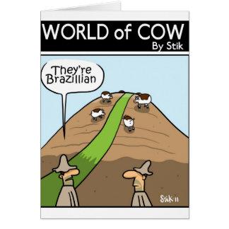 Brazillian Tarjeta De Felicitación
