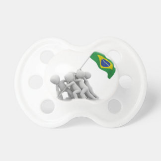 brazils flag pacifier