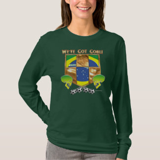 Brazil's Got Goal Ladies Nano Long Sleeve Shirt