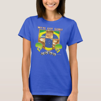 Brazil's Got Goal Ladies Nano T-Shirt