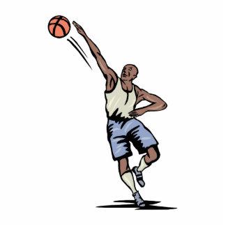 brazo ampliado haciendo el diseño del baloncesto d esculturas fotograficas