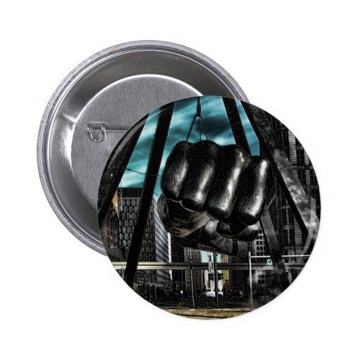 brazo de Detroit Pin Redondo De 2 Pulgadas