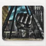 brazo de Detroit Tapete De Ratones