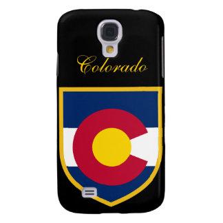 Brazo de la bandera de Colorado Funda Para Galaxy S4