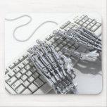 Brazo de los robots tapetes de ratón