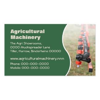 Brazo de rociadura de la cosecha agrícola tarjetas de visita